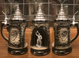 Authentic German Beer Steins by Maders